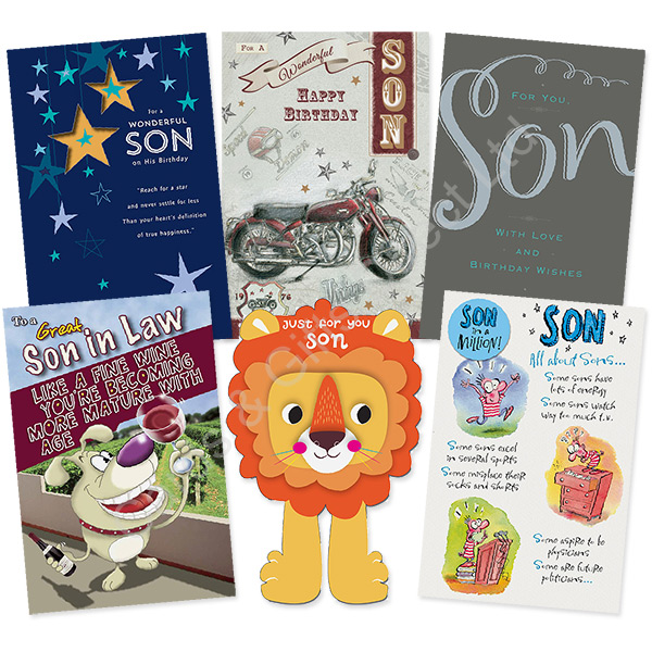Details About Son Stepson In Law Happy Birthday Bday Card Boofle Me To You Greeting Cards